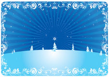 Предпосылка рождества - иллюстрация Стоковое Фото