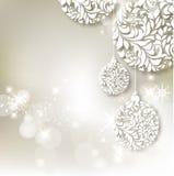 Предпосылка рождества конспекта иллюстрации вектора Стоковая Фотография RF