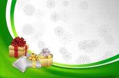 Предпосылка #2 рождества красивая Стоковая Фотография RF