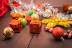 Предпосылка рождества селективного фокуса Стоковое фото RF