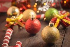Предпосылка рождества селективного фокуса Стоковые Изображения