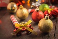 Предпосылка рождества селективного фокуса Стоковое Изображение RF
