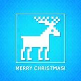 Предпосылка рождества с традиционной норвежской картиной Стоковое Изображение