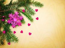 Предпосылка рождества с украшениями рождества decorations стоковые фото