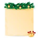 Предпосылка рождества Стоковая Фотография RF