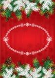 Предпосылка рождества Стоковое фото RF