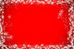 Предпосылка рождества bokeh снега нерезкости Стоковое Изображение