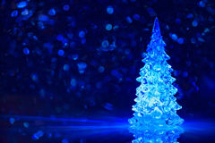 Предпосылка рождественской елки игрушки Стоковые Изображения RF