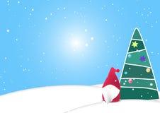 Предпосылка, рождество, вектор Стоковые Фотографии RF