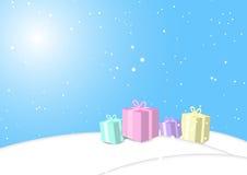 Предпосылка, рождество, вектор Стоковое Изображение RF