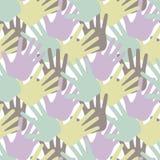 Предпосылка руки Стоковое Изображение RF