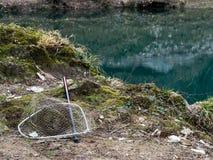 Предпосылка рыбной ловли Стоковые Фотографии RF