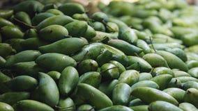 Предпосылка свежих зрелых манго Стоковая Фотография RF
