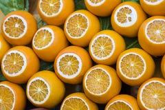 Предпосылка свежих фруктов кивиа апельсинов гранатового дерева Стоковая Фотография