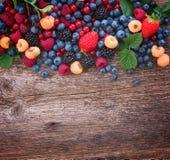 Предпосылка свежих ягод стоковое фото rf