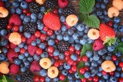 Предпосылка свежих ягод стоковые фотографии rf