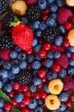 Предпосылка свежих ягод стоковая фотография rf