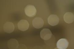 Коричневый цвет предпосылки Bokeh Стоковая Фотография