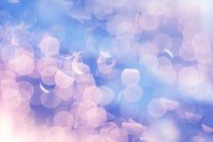 Предпосылка светов рождества яркого блеска праздничная серебр и золото de Стоковые Фотографии RF