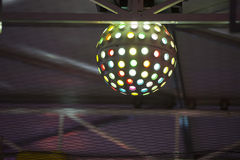 Предпосылка светов Luna Park масленицы ярмарки потехи moving Стоковое фото RF