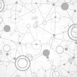 Предпосылка связи технологии/науки Стоковая Фотография