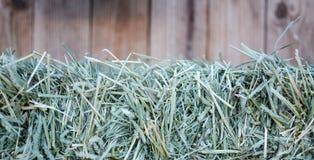 Предпосылка связки сена Стоковые Фотографии RF