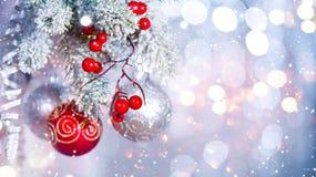 Предпосылка серебра конспекта праздника рождества стоковое изображение rf
