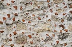 Предпосылка серого и красного кирпича Стоковое Фото