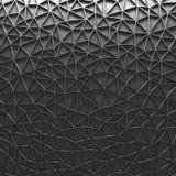 Предпосылка серой полигональной мозаики геометрическая Стоковые Изображения