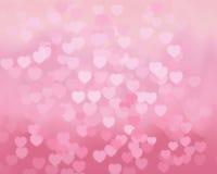 Предпосылка сердца вектора Стоковая Фотография RF