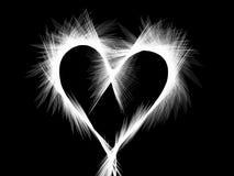 Предпосылка сердца влюбленности стоковое изображение rf
