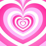 Предпосылка сердца симпатичная Стоковое Фото