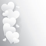 Предпосылка сердца Стоковое Изображение