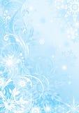 Предпосылка сини зимы Стоковое Фото