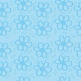 Предпосылка сини цветков Стоковая Фотография