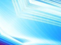 Предпосылка сини льда и белых абстрактная фрактали с структурами и световыми эффектами Стоковые Изображения