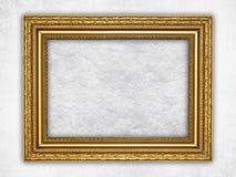 Предпосылка - скомканная бумага в картинной рамке Стоковая Фотография