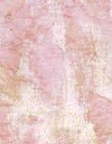 Предпосылка скомканная годом сбора винограда розовая бумажная с текстом иллюстрация штока