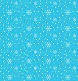 Предпосылка снега Нового Года иллюстрация вектора