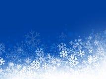 Предпосылка снежинки Стоковая Фотография