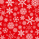 Предпосылка снежинок рождества абстрактная Стоковое Изображение