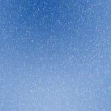 Предпосылка снежинок Стоковое Изображение RF