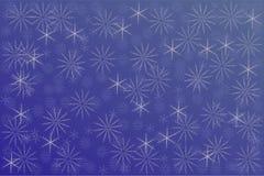 Предпосылка снежинок Стоковая Фотография