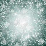 Предпосылка снежка рождества Стоковое фото RF