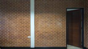 Предпосылка современной кирпичной стены Стоковое Изображение