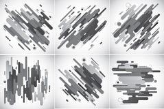 Предпосылка современных нашивок абстрактная Стоковая Фотография RF