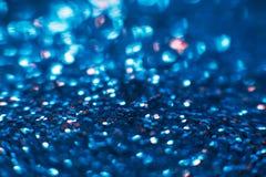 Предпосылка состава абстрактных сияющих ярких блесков голубая Стоковые Изображения RF