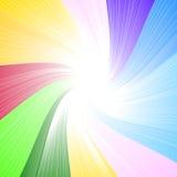 Предпосылка спектра радуги Стоковые Изображения RF