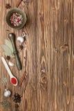 Spices предпосылка стоковая фотография rf