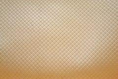 Предпосылка сплетенная кожей Стоковое Фото
